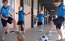 USC academic have assessed a new form of exercise, called ZOVA, which children can do individually or as part of a group