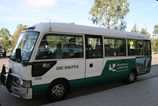 USC express shuttle bus