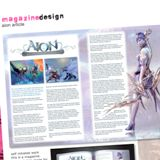 Carly COOKE, Magazine design layout, 2009 (detail)