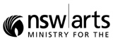 NSW Ministry for the Arts logo