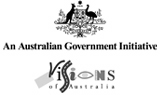 The Visions of Australia logo