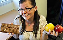 USC Psychology Honours Student Danni Ward is researching food cravings