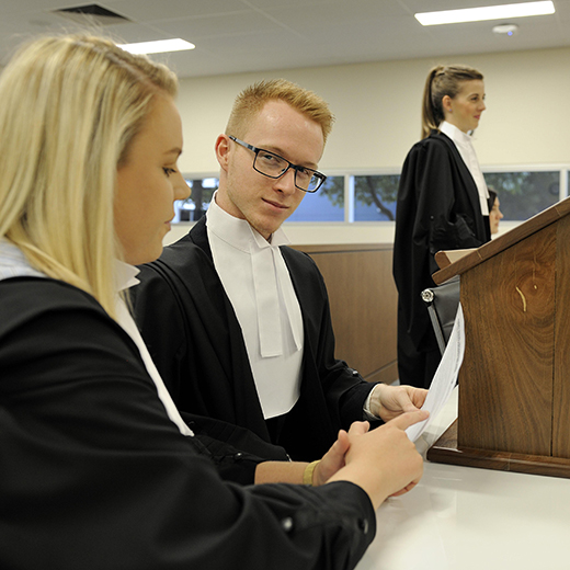 USC Law students will conduct a mock trial
