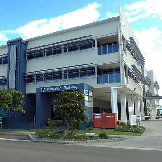 The building at Birtinya that will become the Sunshine Coast Mind and Neuroscience – Thompson Institute