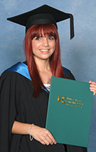 USC Bachelor of Communication graduate Renee Loccisano has landed a job in Kawana. Photo credit: Silver Rose Photography