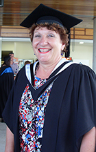 USC Master of Midwifery Graduate Diane Leotta has landed a job at Toowoomba Base Hospital