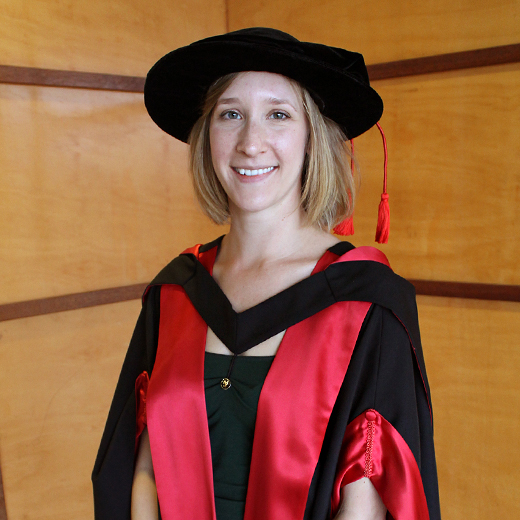 Corinna Bürgin-Maunder will receive the Chancellor's Medal at USC's graduation ceremony on Thursday 1 October