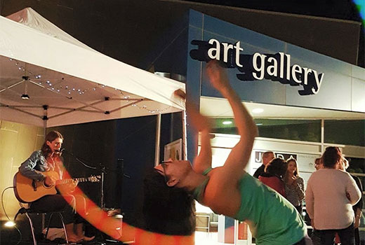 Twilight markets at the Art Gallery
