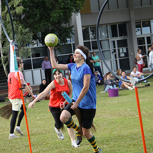 Quidditch at the 2015 Orientation.