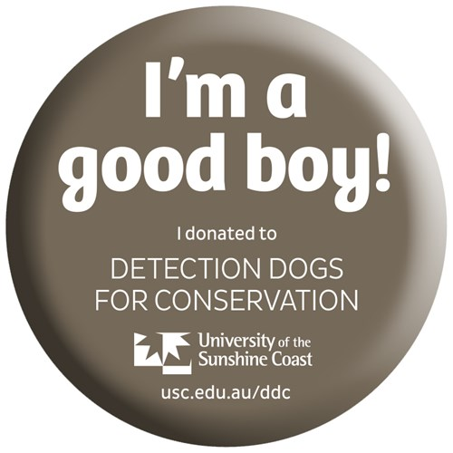 I'm a good boy! I donated to Detection Dogs for Conservation sticker
