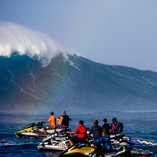Big wave surfing champion Mark Visser.