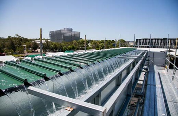 A new, full-scale roof drainage research facility has recently been constructed at the University of the Sunshine Coast