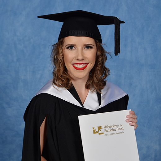 Bachelor of Nurisng Science graduate Tash Spiers