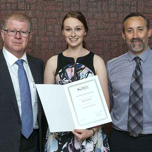 USC Gympie Bachelor of Busines and Commerce student Bronte Newcombe