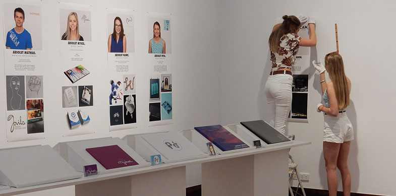USC Design Students Folio Exhibition, 2015
