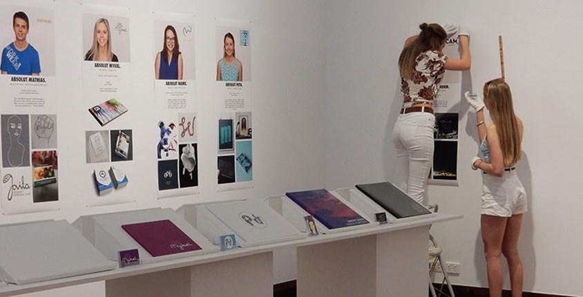 USC Design Students Folio Exhibition 2015