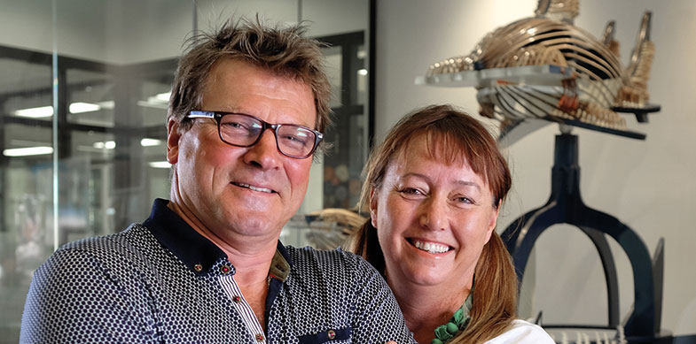Ferre and Mieke De Deyne, Big Beizam donated by the Proost DeDeyne Family, 2012. Photographed by Lachie Millard, Barefoot Pictures