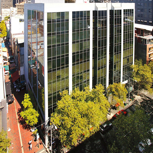 The new University of the Sunshine Coast campus at 399 Lonsdale Street, Melbourne.