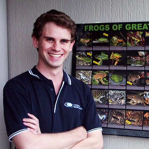 University of the Sunshine Coast science graduate Jono Hooper.