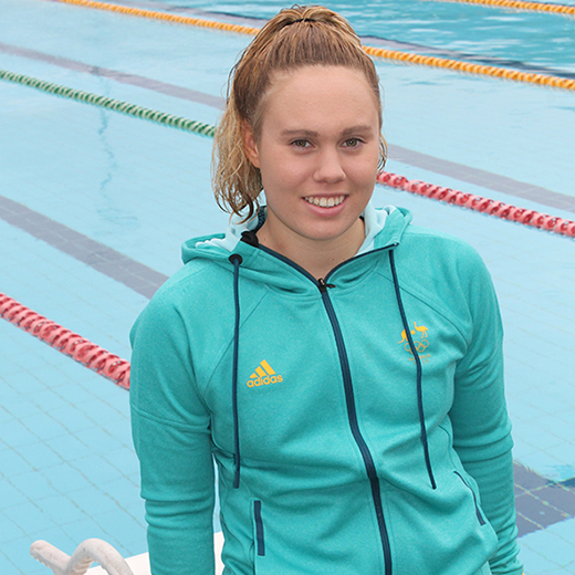 University of the Sunshine Coast Business student Chelsea Gubecka has been selected for the Rio Olympics.