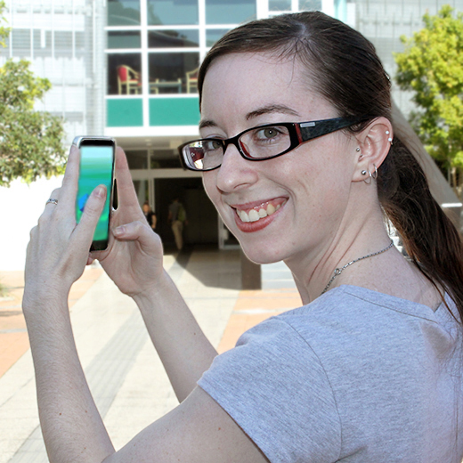 USC PhD student Alayna Cole aims to take part in the Pokemon GO walk