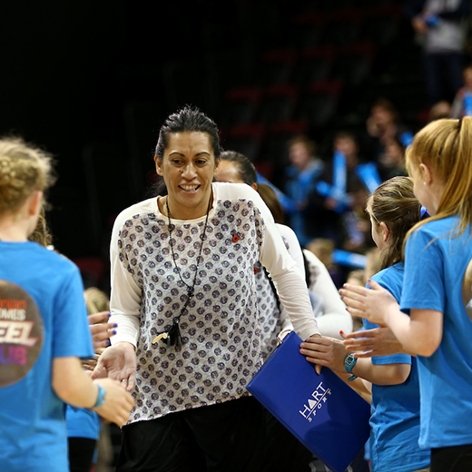 New Storm/USC netball team head coach Noeline Taurua