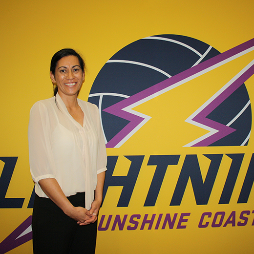 Sunshine Coast Lightning's recently appointed head coach Noeline Taurua.
