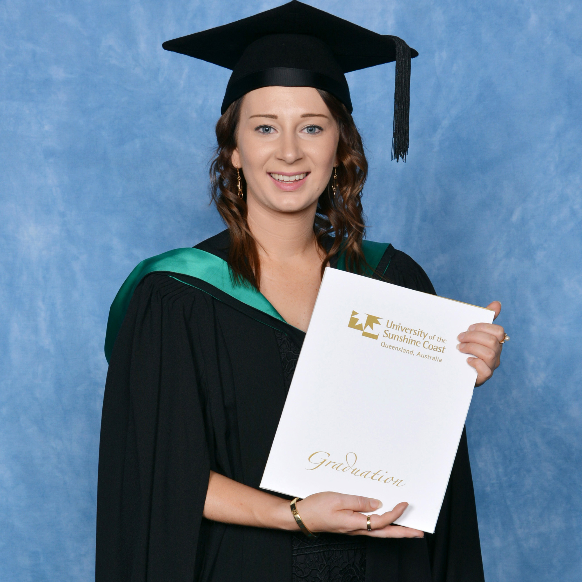 Graduate Jacinta Blums. Silver Rose Photography