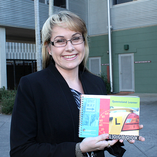 University of the Sunshine Coast road safety expert Dr Bridie Scott-Parker.