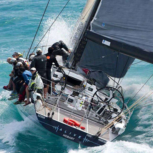 USC student and yachtsman David Turton recently completed his eighth Sydney to Hobart Yacht Race, acting as navigator on board the 66-foot mini-maxi yacht Alive.