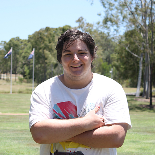 20-year-old Law/Business student Jak Hardy has been named the Sunshine Coast's Young Citizen of the Year.