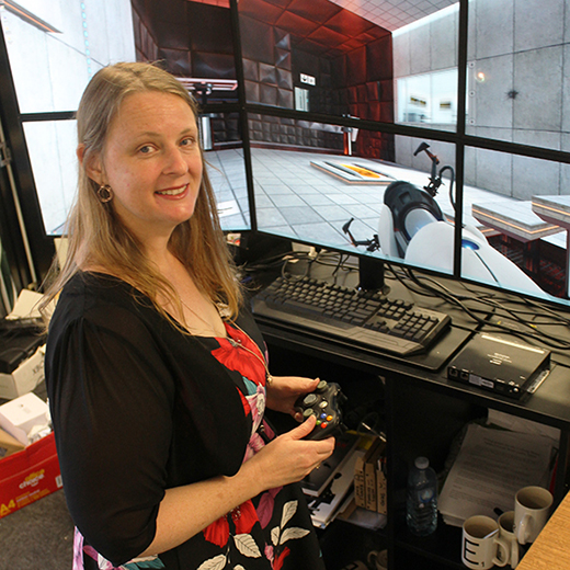 Associate Lecturer in Serious Games Dr Colleen Stieler-Hunt will attend the five-day Game Developers Conference in San Francisco.