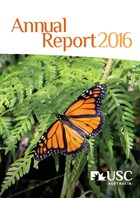 2016 USC Annual Report Cover