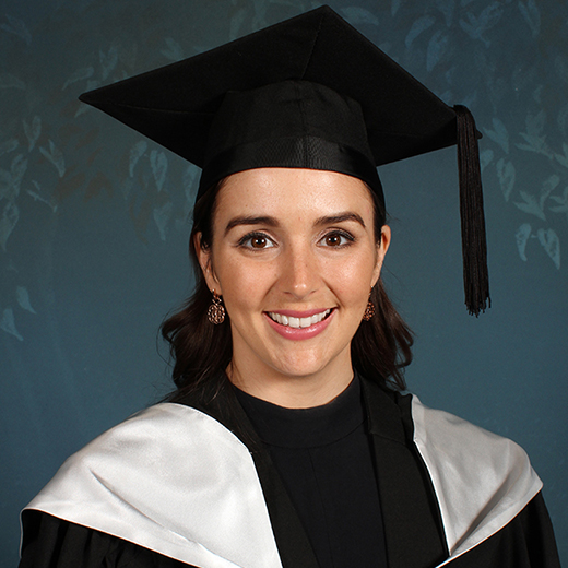Elyssa Hughes, 27, of Bribie Island recently graduated from USC with a Bachelor of Nutrition and Dietetics.