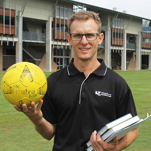 USC academic and Kawana Football Club head coach Scott McLean.