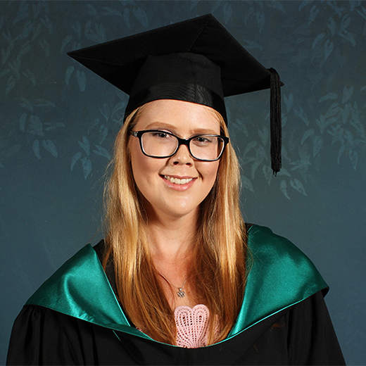 USC Accounting graduate Kirstyn O'Brien of Bundaberg