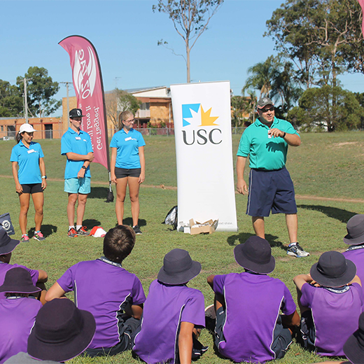 USC High Performance Student Athletes at Maryborough's Aldridge State High School