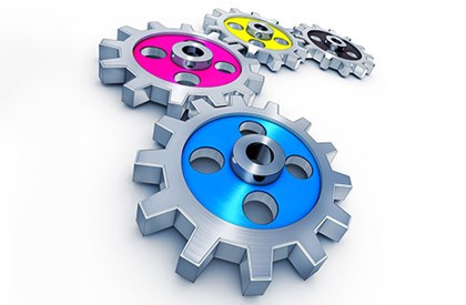 Coloured Cogs