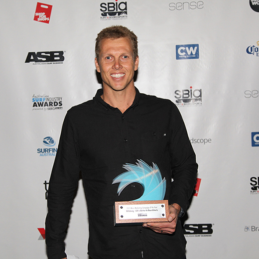 Scott Hargreaves is a high-level marketing role for one of the world's biggest surf wear companies in California.
