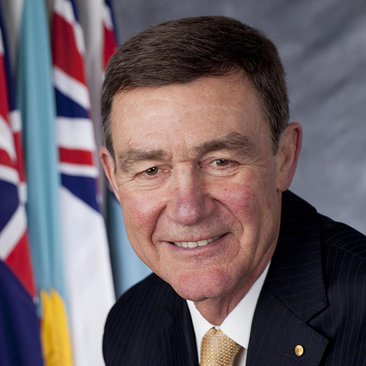 Air Chief Marshal Sir Angus Houston AK, AFC (Ret'd) is the University of the Sunshine Coast's new Chancellor.