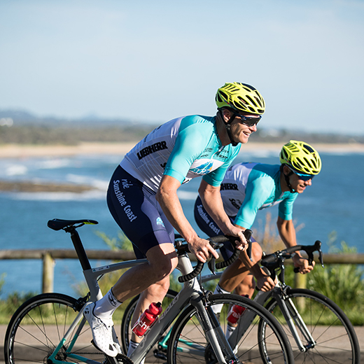 Launch of Australian Cycling Academy at USC. Photo: Beardy McBeard