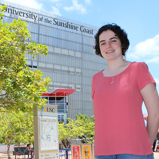 USC Science student Mikaela Bell of Maryborough