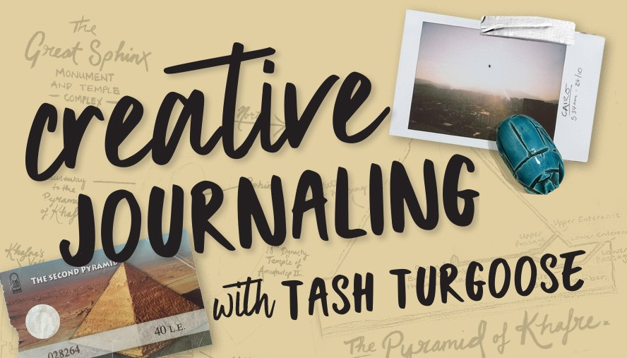 Creative Journaling with Tash Turgoose