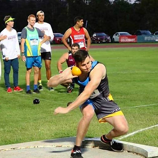 USC student athlete Daniel Green competes at the UniSport Australia National Championships