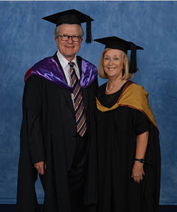 Professors Anne and Neil Rees