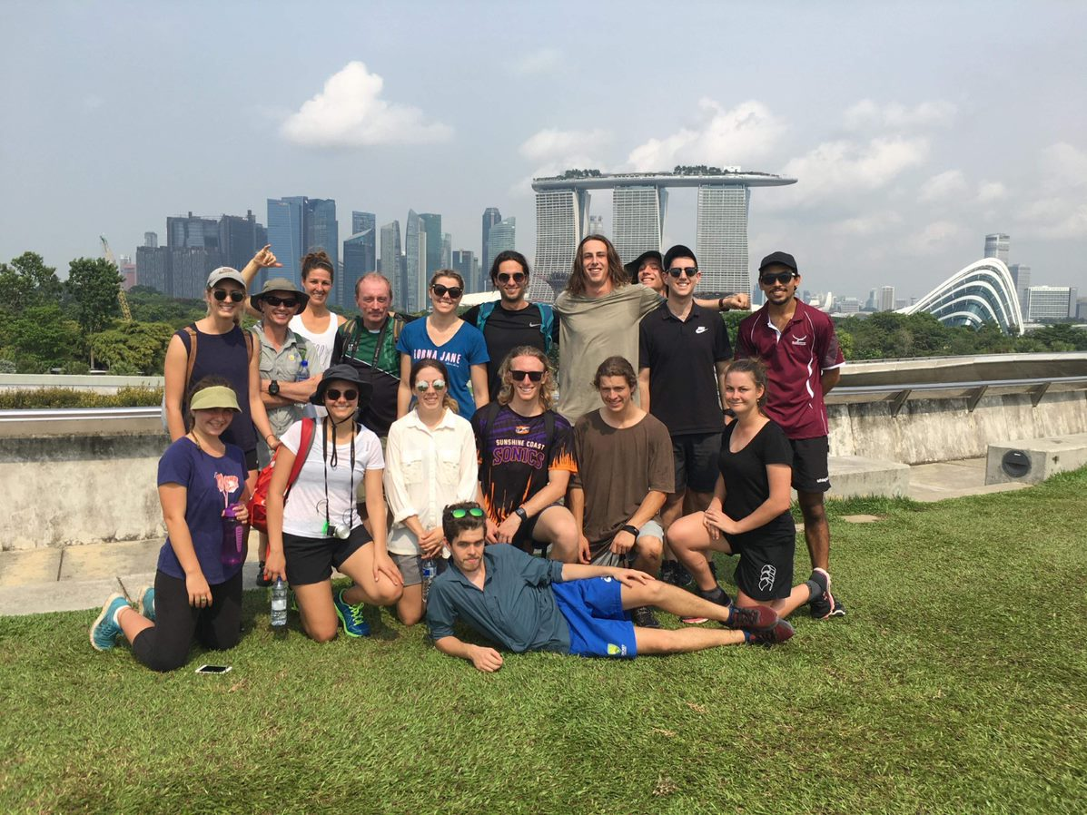 USC Bachelor of Recreation and Outdoor Education at the Singapore Marina Barrage
