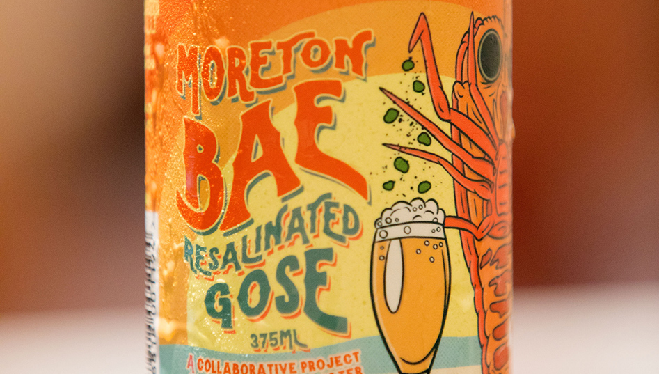 USC 1996 Society event - Moreton Bae Resalinated Gose seaweed beer in partnership with Newstead Brewing Co.