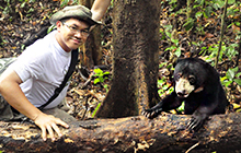 Bornean Sun Bear Conservation Centre founder Siew Te Wong