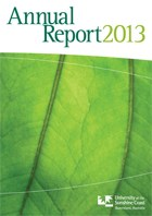 2013 USC Annual Report Cover