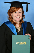 USC graduate Ruby Jones (photo by Silver Rose Photography)